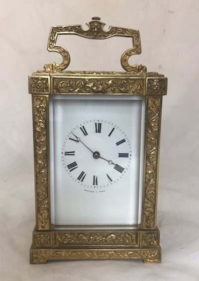 Premier Carriage Clocks by Kembery Antique Clocks Ltd