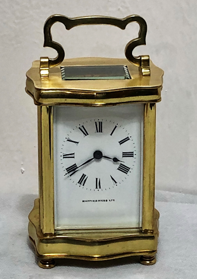 Timepiece Carriage Clocks by Kembery Antique Clocks Ltd