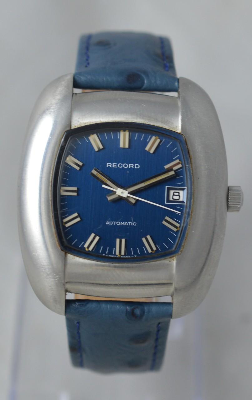 1970s Record Automatic Wristwatch