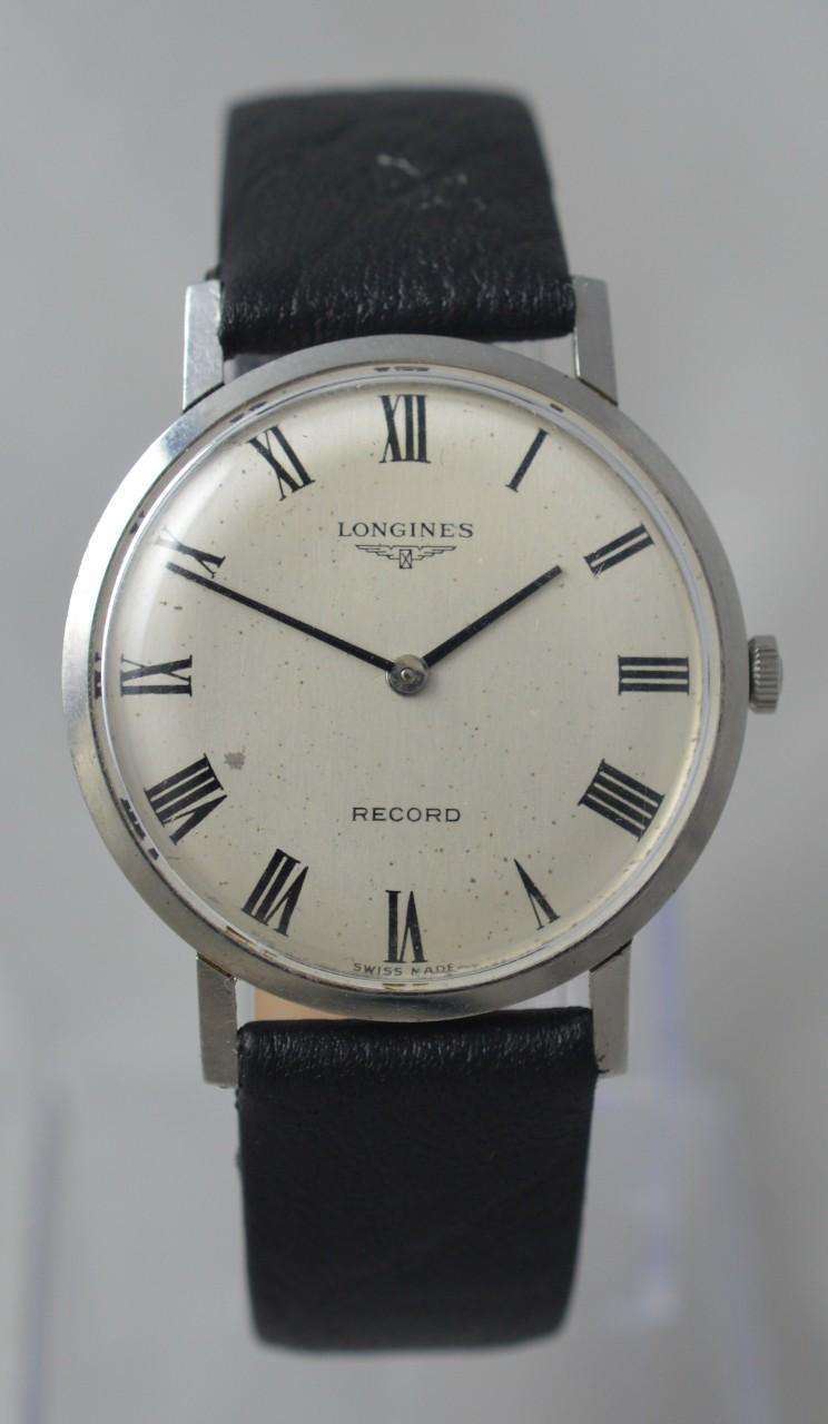 1960s Longines Record Wristwatch with box